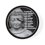 Buddha Education of Mind Wall Clock
