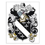 Lake Coat of Arms Small Poster