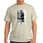Churchill Fear of Truth Ash Grey T-Shirt
