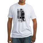 Churchill Fear of Truth Fitted T-Shirt