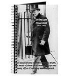 Churchill Fear of Truth Journal