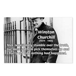Churchill Fear of Truth Postcards (Package of 8)