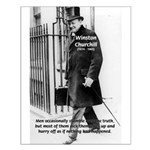 Churchill Fear of Truth Small Poster