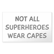 Not All Superheroes Decal