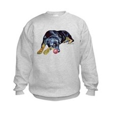 Rottweiller with Ball Sweatshirt