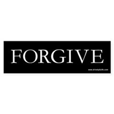 Forgive Bumper Bumper Sticker