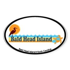 Bald Head Island NC - Beach Design Decal