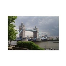 Tower Bridge - London Rectangle Magnet