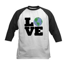 Love Earth (black text) Tee