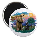 St Francis #2/ B Shepherd Magnet