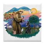 St Francis #2/ B Shepherd Tile Coaster