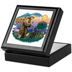 St Francis #2/ B Shepherd Keepsake Box