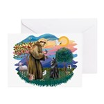 St Francis #2/ B Shepherd Greeting Cards (Pk of 10