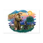 St Francis #2/ B Shepherd Mini Poster Print