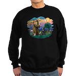 St Francis #2/ B Shepherd Sweatshirt (dark)