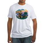 St Francis #2/ B Shepherd Fitted T-Shirt