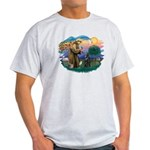 St Francis #2/ B Shepherd Light T-Shirt