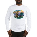St Francis #2/ B Shepherd Long Sleeve T-Shirt