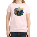 St Francis #2/ B Shepherd Women's Light T-Shirt