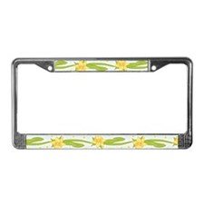 Daffodils License Plate Frame