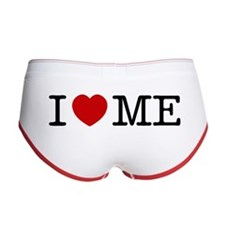I LOVE ME --- RIFFRAFFTEES.COM Women's Boy Brief
