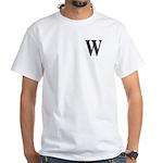 W2004, W-2004 White T-Shirt