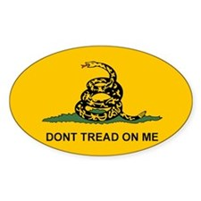 Dont Tread on Me Snake Flag Stickers