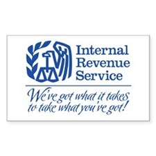 IRS: We've Got What It Takes Decal