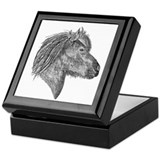 Cute Icelandic horse Keepsake Box
