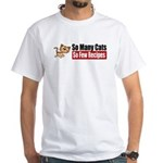 So Many Cats White T-Shirt