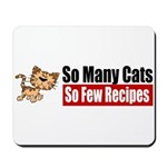 So Many Cats Mousepad