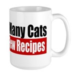 So Many Cats Large Mug