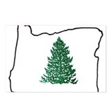 Tree in Oregon Postcards (Package of 8)