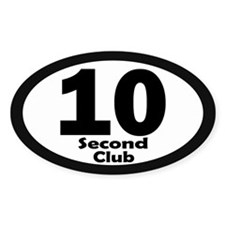 10 Second Club - Decal