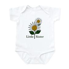 Daisies Little Sister Infant Bodysuit