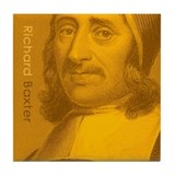 Richard Baxter - Puritan Preacher (Tile Coaster)