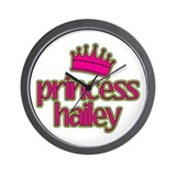 Princess Hailey Wall Clock