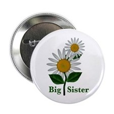 "Daisies Big Sister 2.25"" Button (10 pack)"