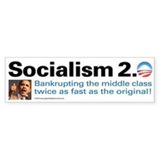 Obama Socialism 2.0 Bumper Sticker