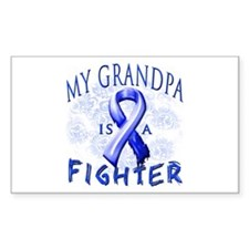 My Grandpa Is A Fighter Decal