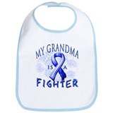 My Grandma Is A Fighter Bib