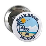 "Bald Head Island NC - Sand Dollar Design 2.25"" But"