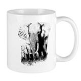 Elephants Small Mug