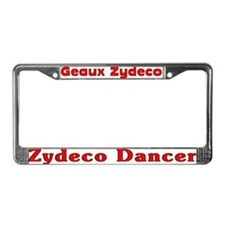 Zydeco Dancer License Plate Frame