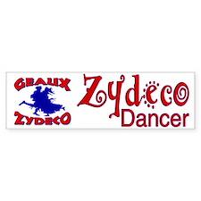 Zydeco Dancer Bumper Bumper Sticker