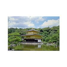 Japan Zen Kyoto Rectangle Magnet
