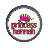 Princess Hannah Wall Clock