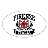 Firenze Italia Decal
