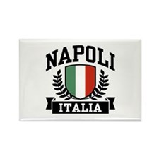 Napoli Italia Rectangle Magnet