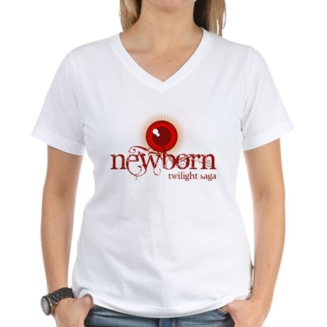 Twilight Newborn Women's V-Neck T-Shirt